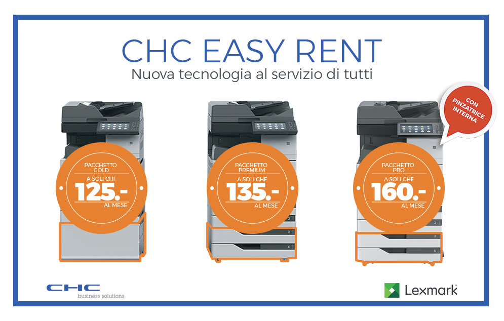 CHC easy rent